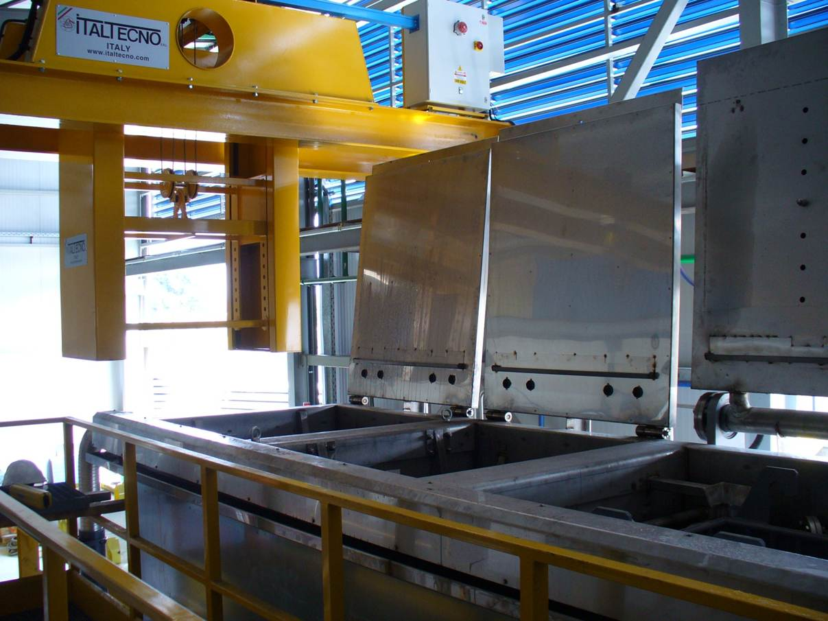 Die-Clar: Automated Die Cleaning Plant